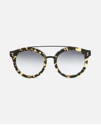 Stella McCartney Vintage Dark Havana Round Frame Sunglasses