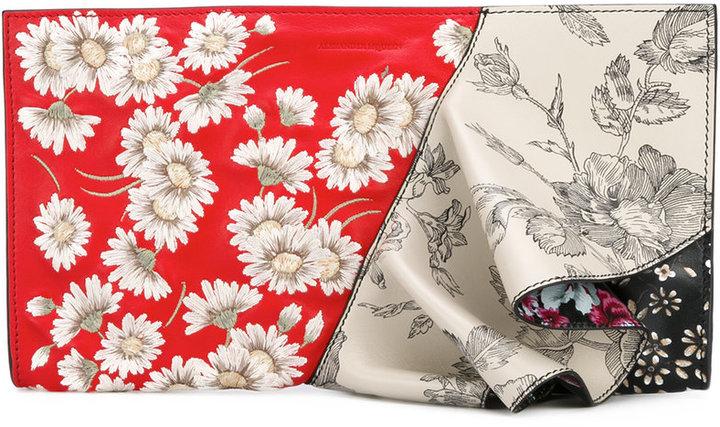Alexander McQueenAlexander McQueen table cloth clutch