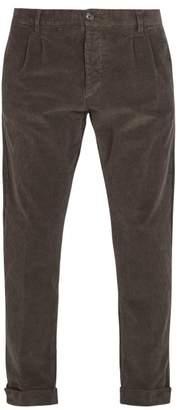 J.w.brine J.W. Brine J.w. Brine - Marshall Cotton Blend Corduroy Trousers - Mens - Grey