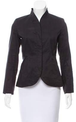 Eileen Fisher Long Sleeve Zip Up Blazer