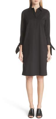 Lafayette 148 New York Talia Stretch Cotton Blend Dress