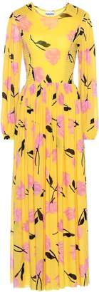 Ganni Exclusive to Mytheresa floral maxi dress