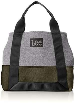 Lee (リー) - [リー] トートバッグ ミニ LeeBOXロゴプリント フェルト カーキ
