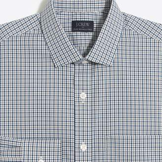 J.Crew Factory Thompson slim-fit flex multi-gingham dress shirt