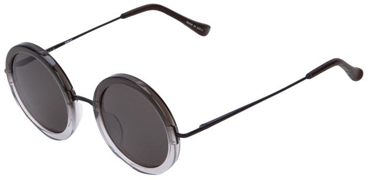 The Row For Linda Farrow 'Degrede' Round Sunglasses