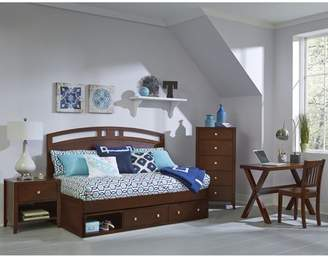 Hillsdale Furniture Pulse Arch Twin Daybed with Storage, Multiple Colors