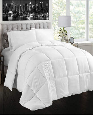 Creative Living Solution White Goose Feather and Down Cotton Case Comforter, King Size