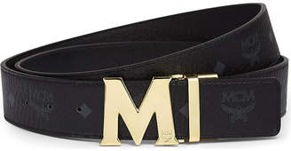 MCM Claus reversible Saffiano leather belt
