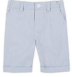 Jimmy Bravo Infants' Striped Cotton Shorts - Blue