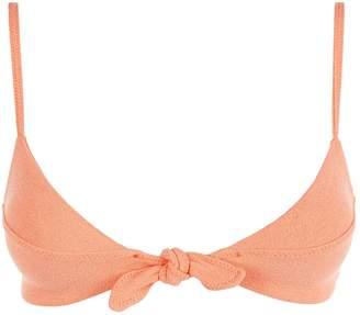Vix Textured Knot Bikini Top