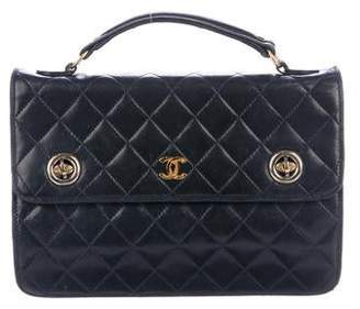 Chanel Quilted Mini Handle Bag