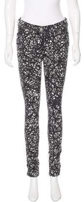 Balenciaga Printed Skinny Jeans