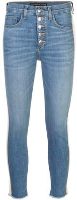 Veronica Beard stripe detail skinny jeans