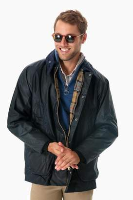 Barbour Navy Bedale Wax Jacket