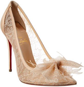 huge discount a7112 d35c1 Louboutin Lace Pumps - ShopStyle