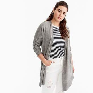 J.Crew Merino wool high-low cardigan sweater