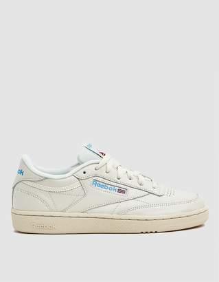 e62b036038f Reebok Club C 85 Sneaker in Chalk Paper White Blue