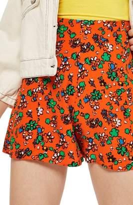 Topshop Ditzy Floral Shorts