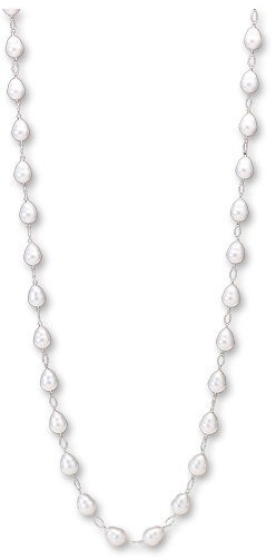 Linked pearl necklace