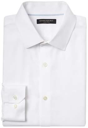 Banana Republic Grant Slim-Fit SUPIMA® Cotton Textured Shirt