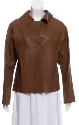 Marni Tailored Leather Jacket