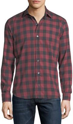 Buffalo David Bitton Culturata Check Cotton Shirt