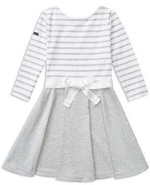 Ralph Lauren Girls' Contrast Striped Dress - Big Kid
