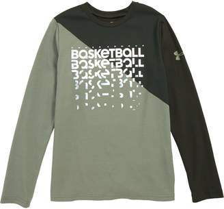 Under Armour Basketball Repeat Long Sleeve HeatGear(R) T-Shirt