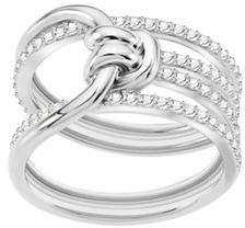 Swarovski Lifelong Crystal Knot Wide Ring