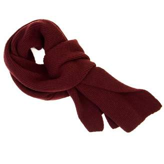 40 Colori - Burgundy Solid Wool & Cashmere Scarf