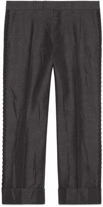 Gucci Tailored wool mohair pant