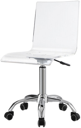 clear Inspired Home Jerome Acrylic Chair
