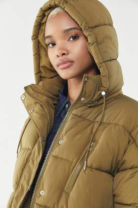Urban Outfitters Mae Hooded Puffer Jacket