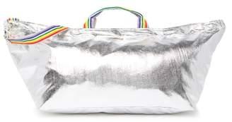 Brasi & Brasi brasi&brasi Metallic Rainbow Trim Duffel Bag