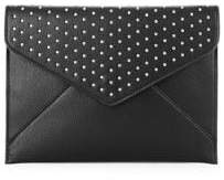 Design Lab Studded Envelope Clutch