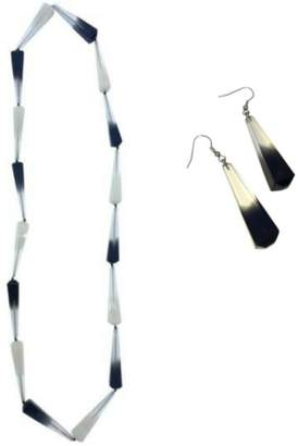 Biba Ruby Olive Jewellery NEW Long Ombre Necklace + Drop Earrings Set (2 Colours Available) by Ruby O