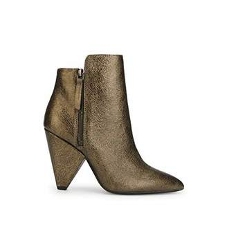 Kenneth Cole New York Women's Galway Side Zip Heeled Bootie Ankle Boot