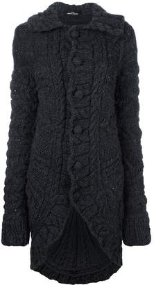 Comme des Garcons Pre-Owned chunky knit long cardigan