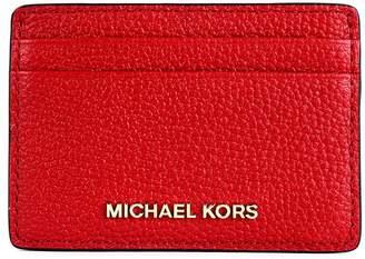 09e9d5e488f1 MICHAEL Michael Kors Card Holder With Logo