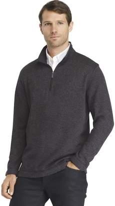 Van Heusen Men's Classic-Fit Sweater Fleece Quarter-Zip Pullover
