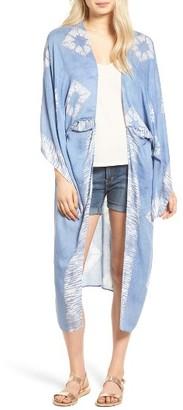 Women's Hinge Desert Dusk Kimono $39 thestylecure.com