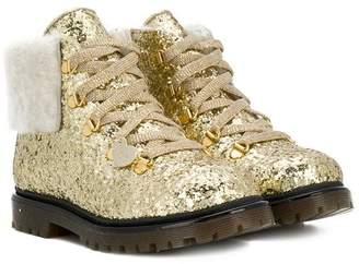 MonnaLisa glitter ankle boots