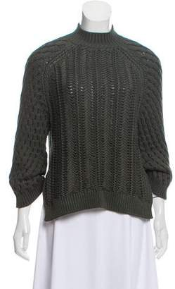 3.1 Phillip Lim Cable Knit Oversize Sweater