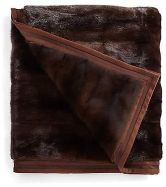 Yves Salomon Mink Fur Blanket
