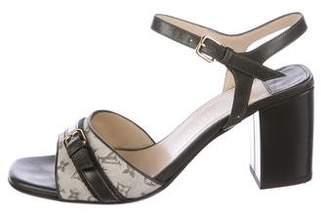 Louis Vuitton Monogram Idylle Ankle Strap Sandals