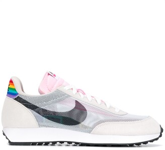 Nike rainbow detail mesh sneakers