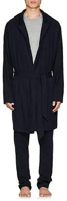 Hamilton and Hare Men's Cotton-Cashmere Robe
