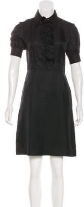 Tory Burch Silk Short Sleeve Dress