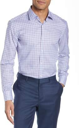 BOSS Jenno Slim Fit Plaid Dress Shirt