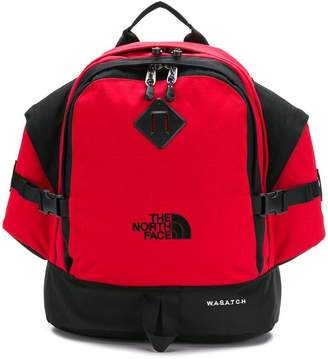 The North Face multi-pocket backpack